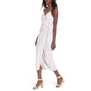 Wayf Wrap Midi Dress XS